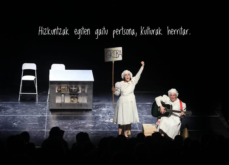 Antzerkia. Teatro. Euskera